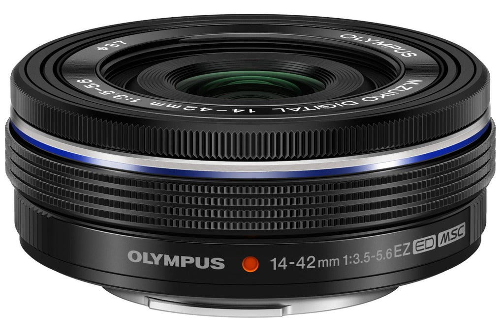Olympus 14-42mm f3.5-5.6 EZ Interchangeable Lens for Olympus/Inspire X5 Micro 4/3 Digital Camera (Black) - Carolina Dronz