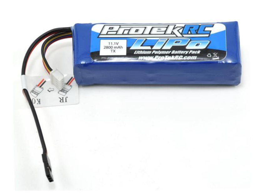 ProTek RC LiPo Transmitter Battery (11.1V/2800mAh)