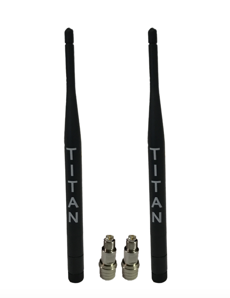 Titan Whip Antennas Pair