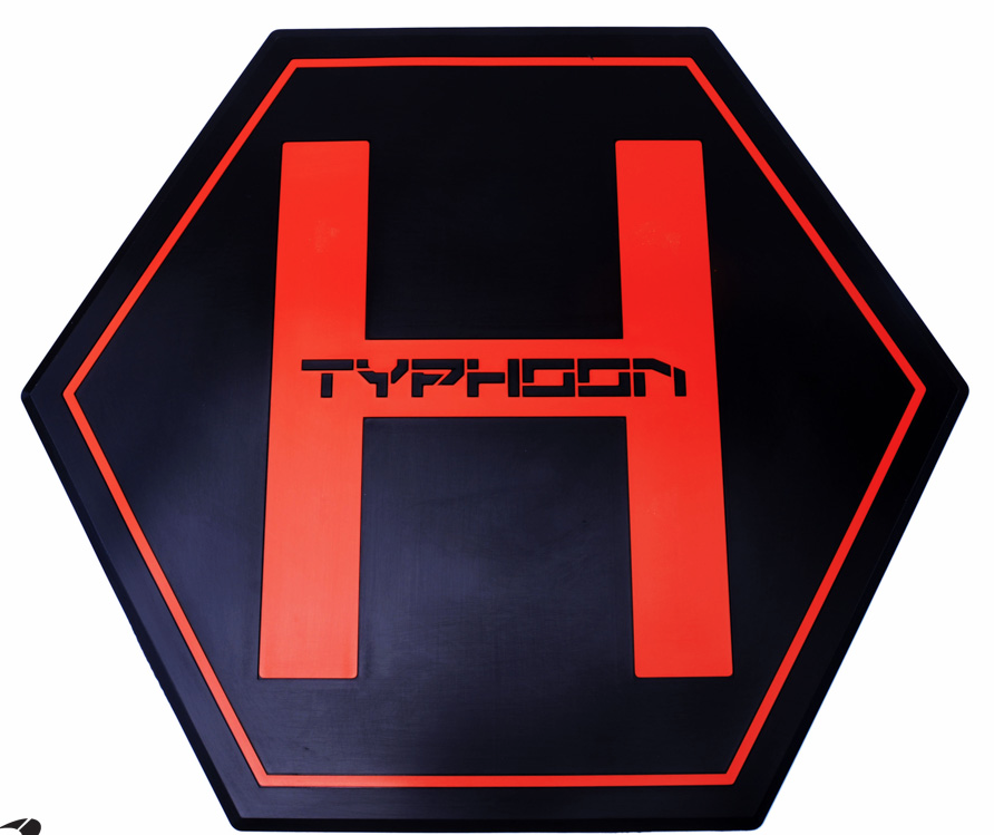 Yuneec Typhoon H Thick Rubber Landing Pad and Carrying Handle - Carolina Dronz - 3