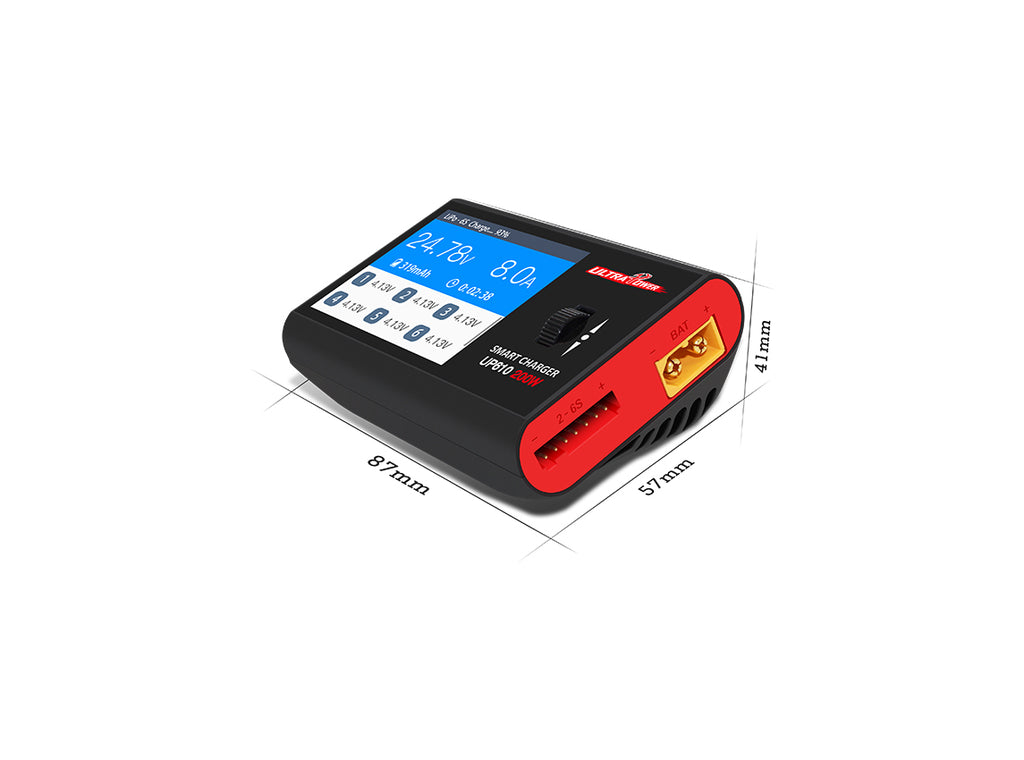 Ultra Power 200W Multi-Chemistry Compact DC Charger