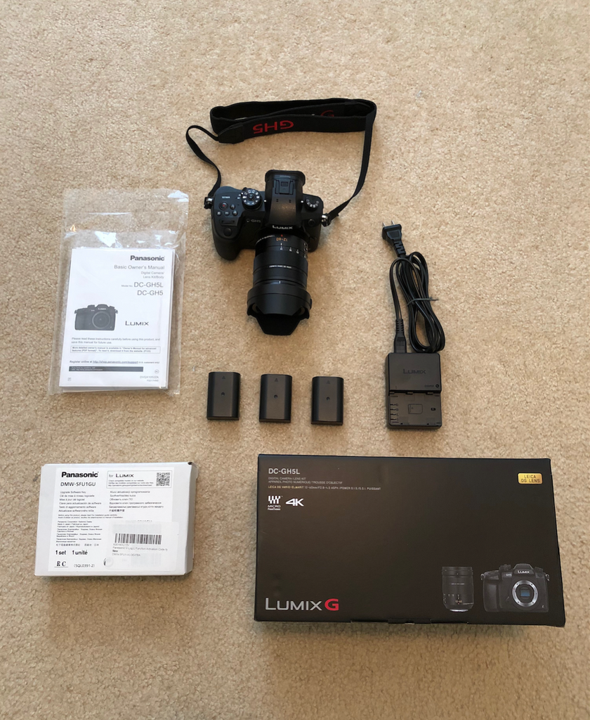 Pre-Owned Lumix GH5 Camera