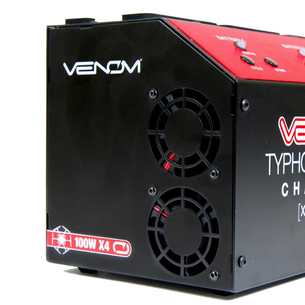 Venom Pro Yuneec Typhoon H 4 Port LiPo Battery Balance Charger