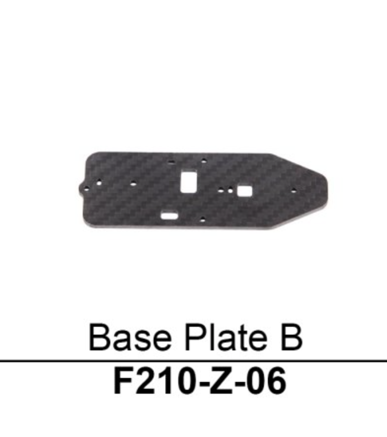 Walkera F210 Base Plate B - Carolina Dronz