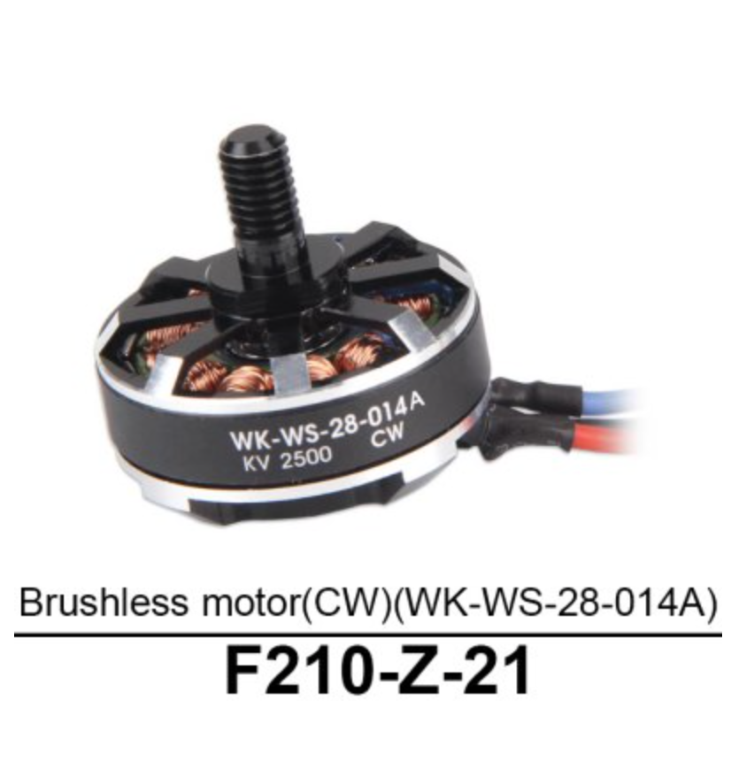Walkera F210 Brushless Motor (CW) - Carolina Dronz