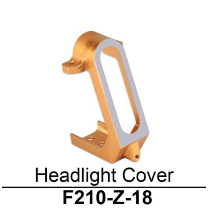 Walkera F210 Headlight Cover - Carolina Dronz