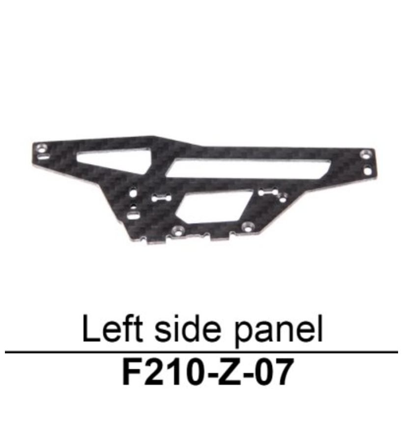 Walkera F210 Left Side Panel - Carolina Dronz