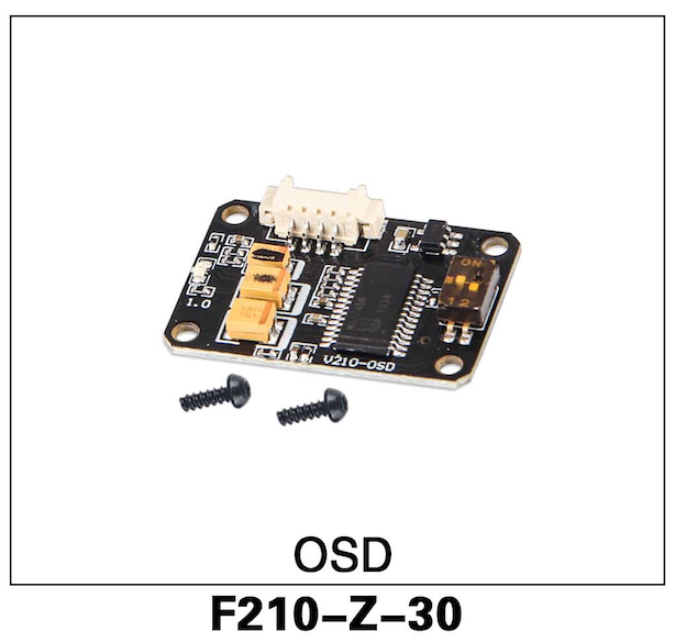 Walkera F210 OSD Board - Carolina Dronz