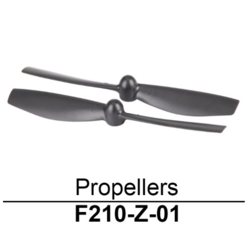 Walkera F210 Propellers 2 Pack - Carolina Dronz