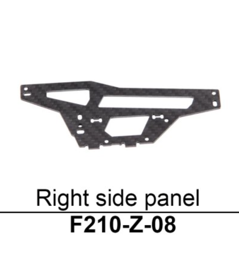 Walkera F210 Right Side Panel - Carolina Dronz