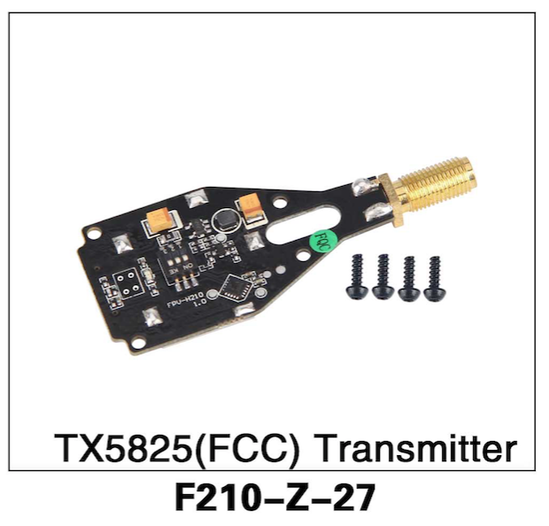 Walkera F210 TX5825 FCC Transmitter - Carolina Dronz