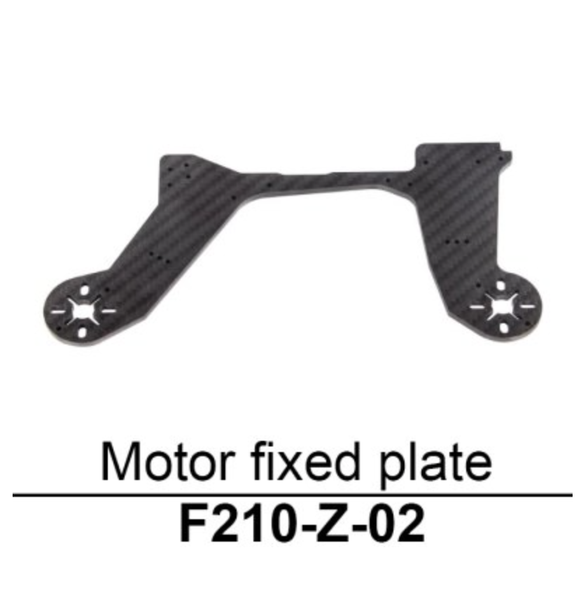 Walkera F210 Motor Fixed Plate - Carolina Dronz