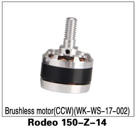 Walkera F150 Rodeo Brushless Motor CCW - Carolina Dronz