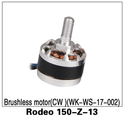 Walkera F150 Rodeo Brushless Motor CW - Carolina Dronz
