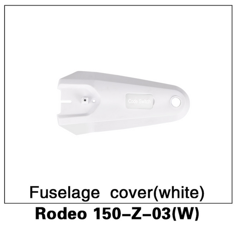 Walkera F150 Rodeo Fuselage Cover White - Carolina Dronz