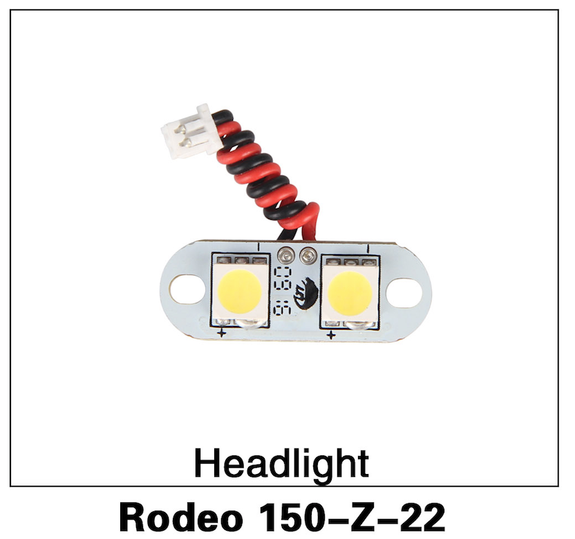 Walkera F150 Rodeo Headlights - Carolina Dronz