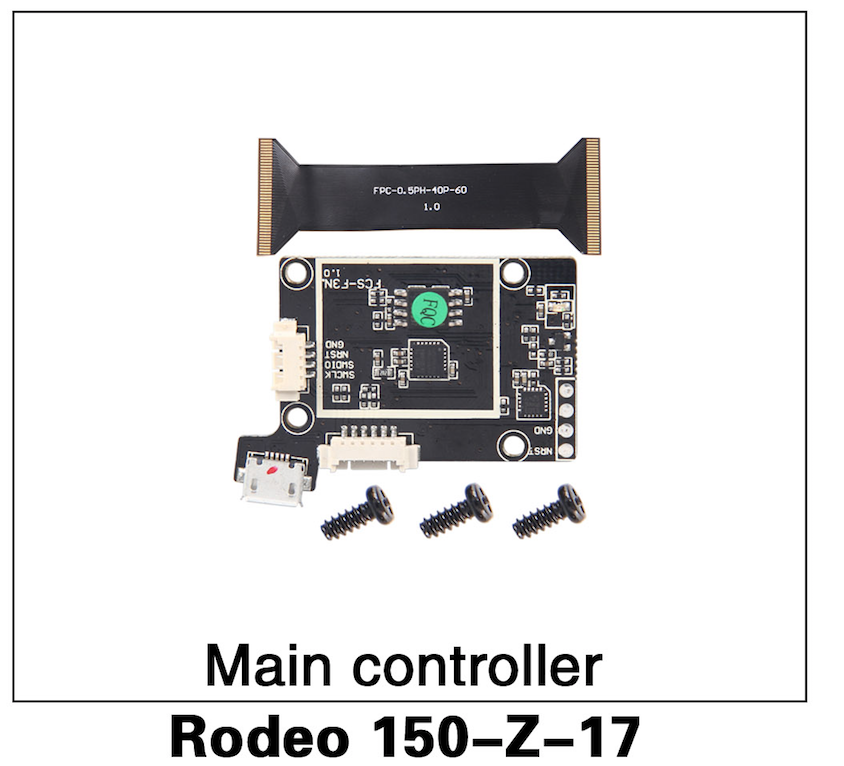 Walkera F150 Rodeo Main Controller Board - Carolina Dronz