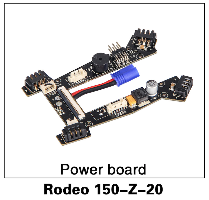 Walkera F150 Rodeo Main Power Board - Carolina Dronz