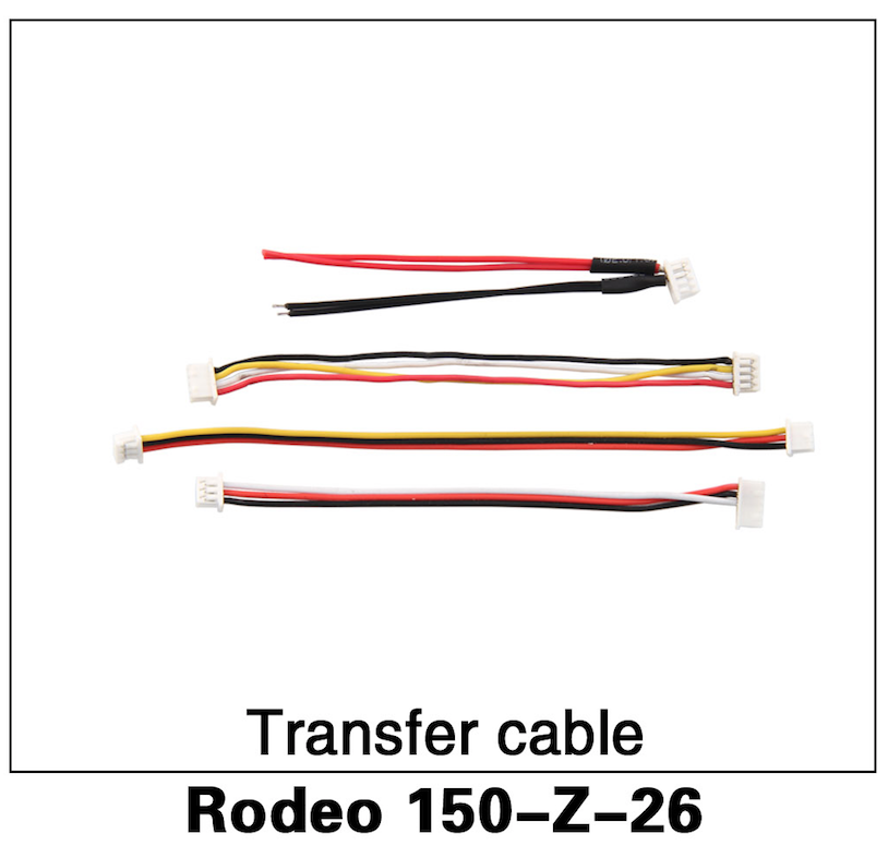 Walkera F150 Rodeo Transfer Cable Set Kit - Carolina Dronz