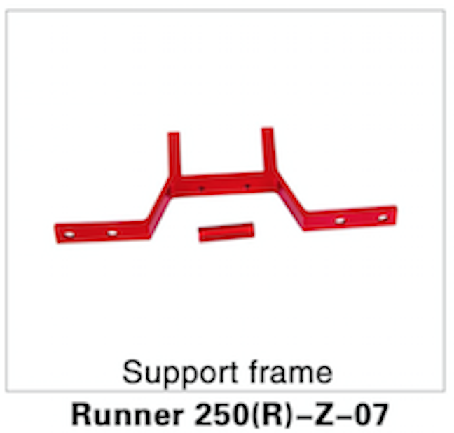 Walkera Runner 250 Advanced Support Frame - Carolina Dronz - 1