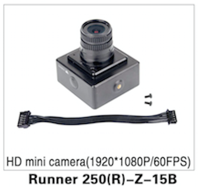 Walkera Runner Advanced 250 HD Mini Camera 1080dpi - Carolina Dronz - 1