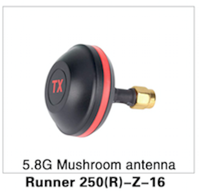 Walkera Runner 250 Advanced Mushroom Antenna 5.8mgz - Carolina Dronz - 1