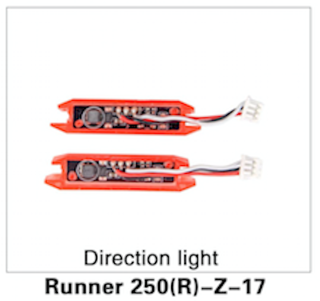 Walkera Runner 250 Advanced Direction Light - Carolina Dronz - 1