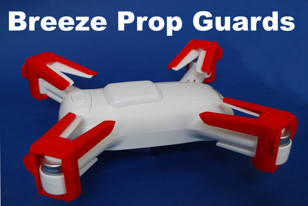 Yuneec Breeze Prop Travel Guards Set - Carolina Dronz - 1