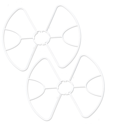 YUNEEC BREEZE Propeller Protector Guards 4 - Carolina Dronz