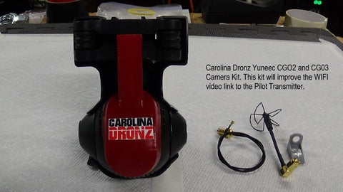 Yuneec CGO2+, CG03, Camera Extender Cable Kit - Carolina Dronz - 1