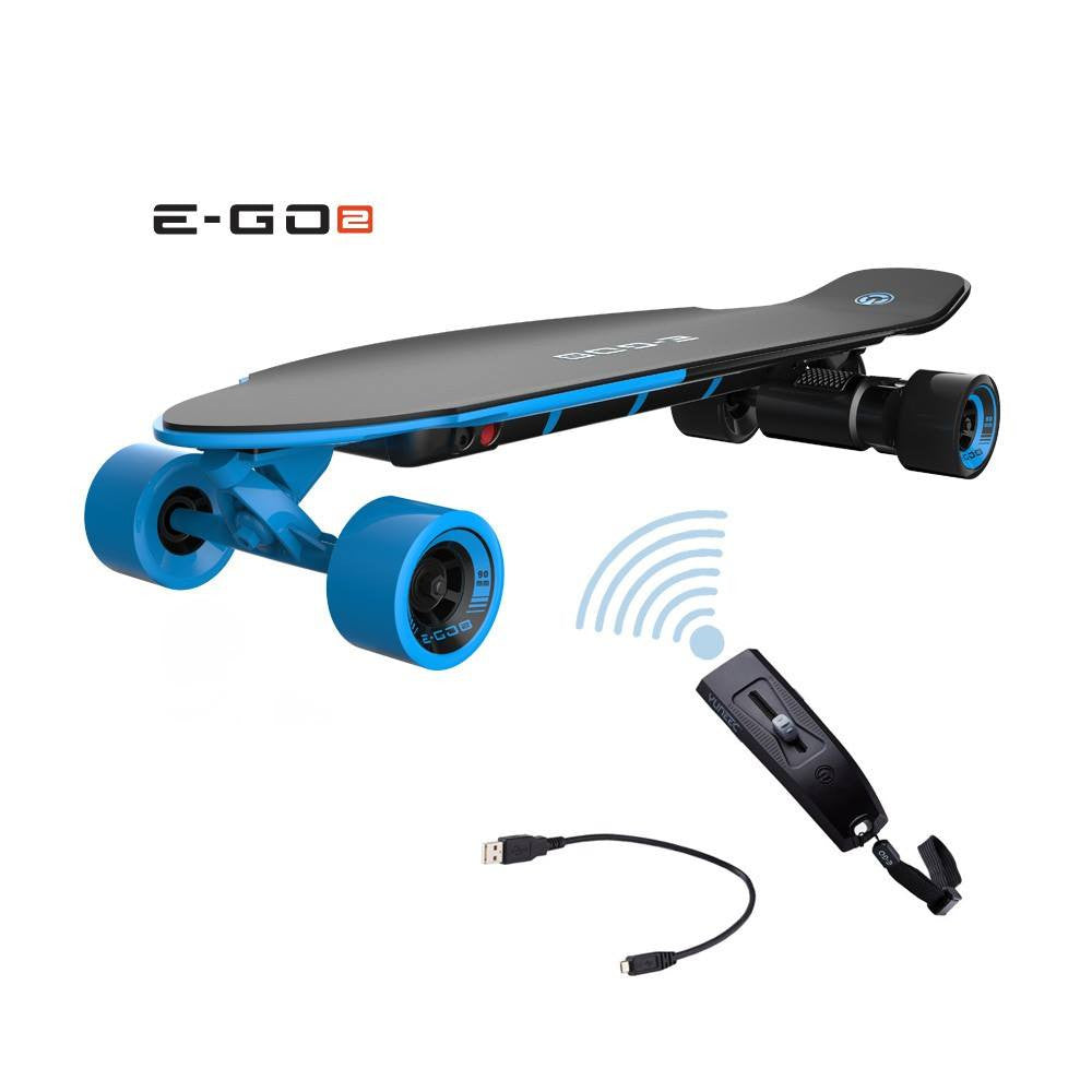 Remote Control Skateboard >> Yuneec E Go 2 Electric Skateboard With Remote Control