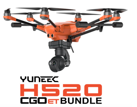 Yuneec H520 Industrial Commercial Hexa-Copter with CGOET Camera