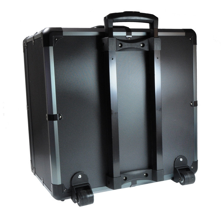 Yuneec Q500-4k Black Metal Case with Trolley Handle - Carolina Dronz - 2