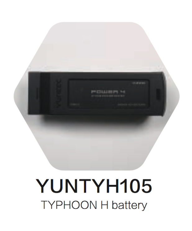 YUNEEC TYPHOON H 5400MAH 4S, 14.8V LIPO BATTERY - Carolina Dronz