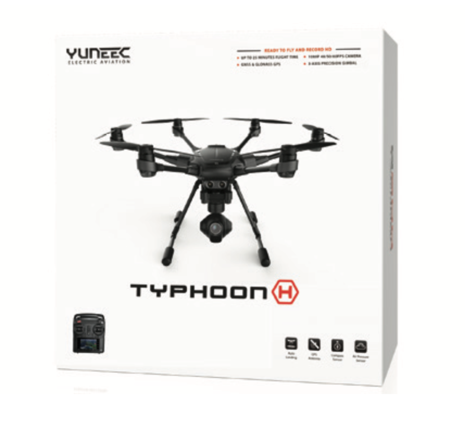 Yuneec Typhoon H, CGO3+ 360 Camera, ST16, Color Box - Carolina Dronz - 3