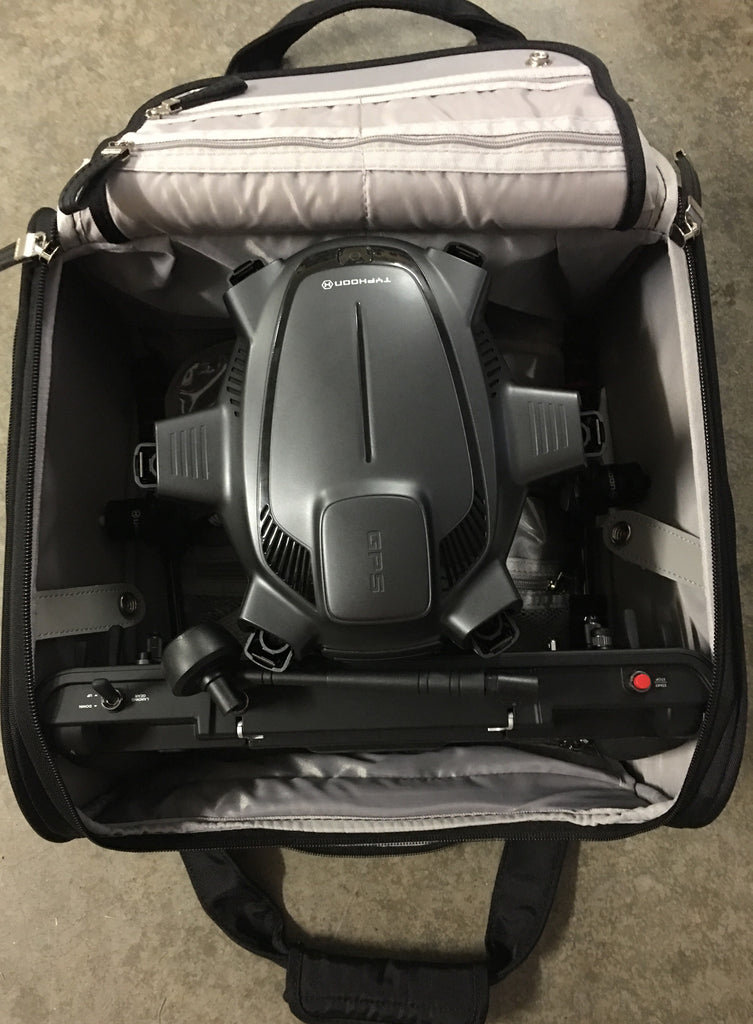 Yuneec Typhoon H, Compact Samsonite Wheeled Bag - Carolina Dronz - 7