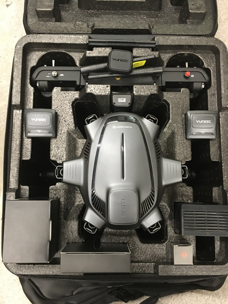 Yuneec Typhoon H, REALSENSE, CGO3+ 360 Camera, ST16, BackPack  Pro Package - Carolina Dronz - 4