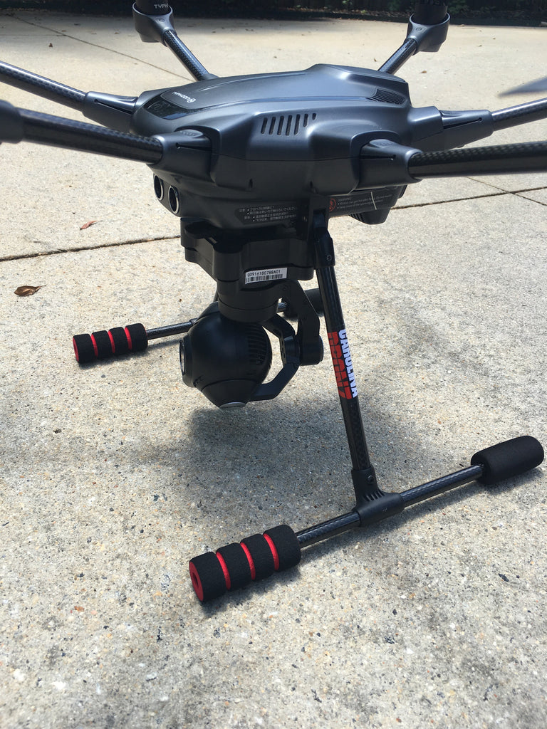 Yuneec Typhoon H Red Landing Pads (2) - Carolina Dronz - 1