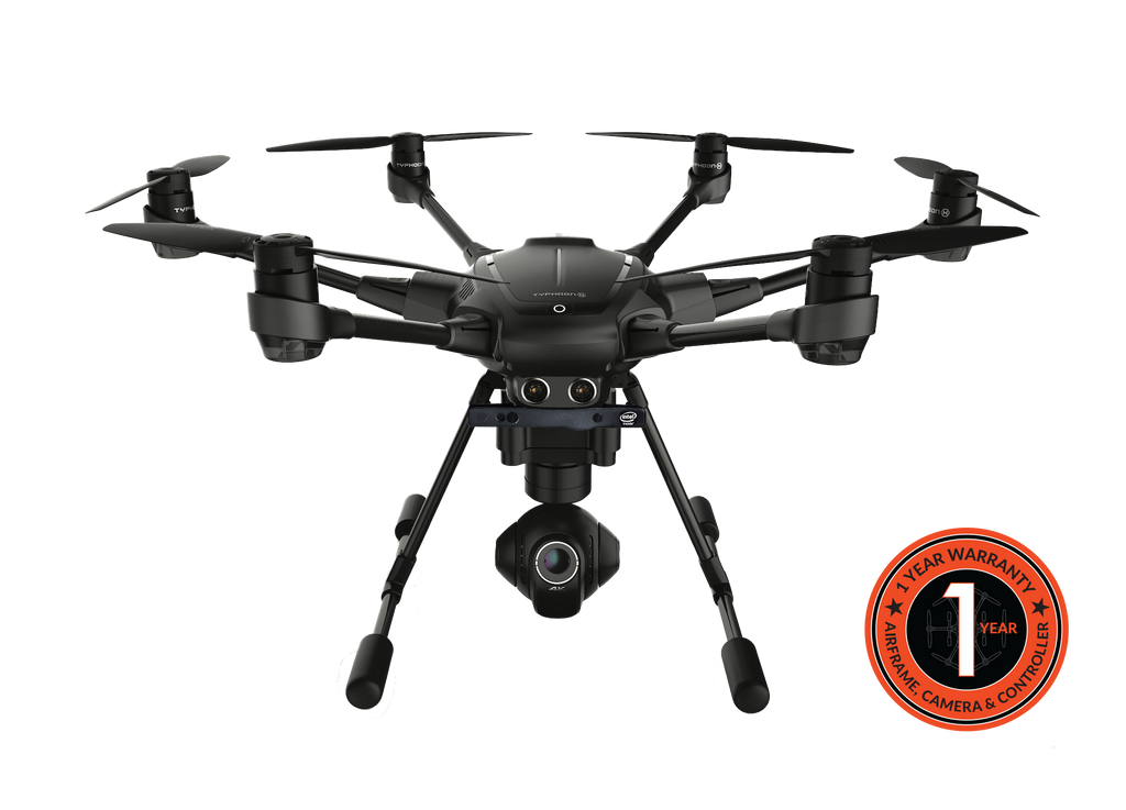 Yuneec Typhoon H, REALSENSE, CGO3+ 360 Camera, ST16, BackPack  Pro Package
