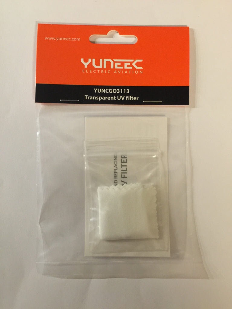 YUNEEC CLEAR Transparent UV Filter for CGO3 Only - Carolina Dronz - 1