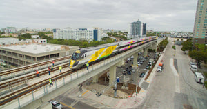 Riding the Brightline to the Miami International Boatshow
