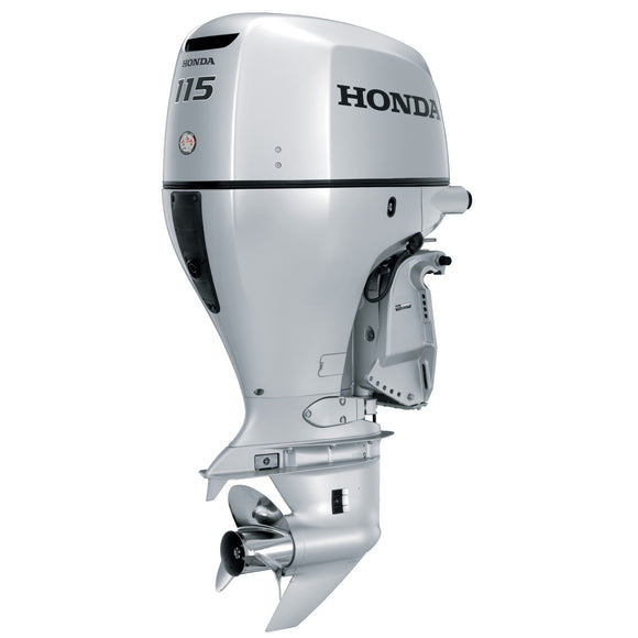 Honda Marine Outboard - BF 115 HP - Sideview