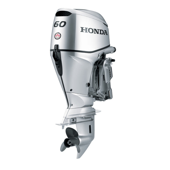 Honda Marine Outboard - BF 60 HP - Sideview