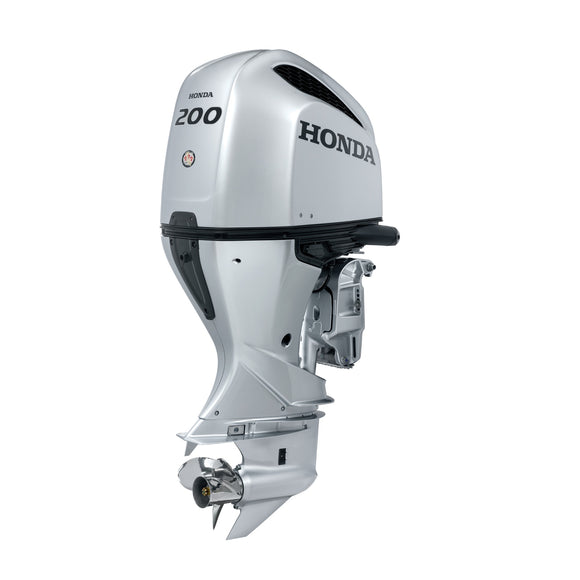 Honda Marine Outboard - BF 200 HP - Sideview