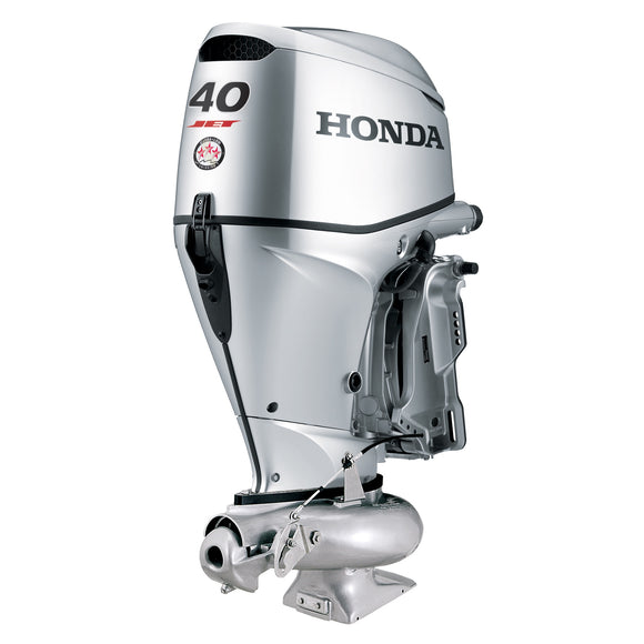 Honda Marine Outboard - BF 40 HP Jet - Sideview