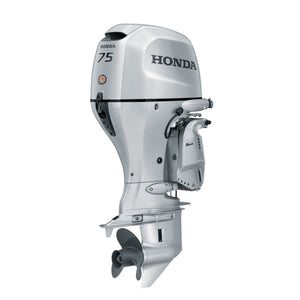Honda Marine Outboard - BF 75 HP - Sideview