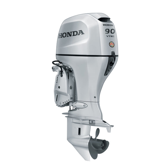 Honda Marine Outboard - BF 90 HP - Sideview