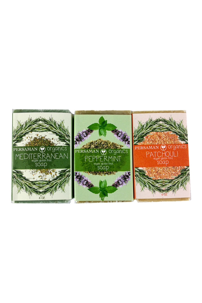 Rejuvenating Soap Bar Set