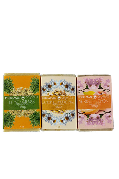 Calming Citrus Soap Bar Set