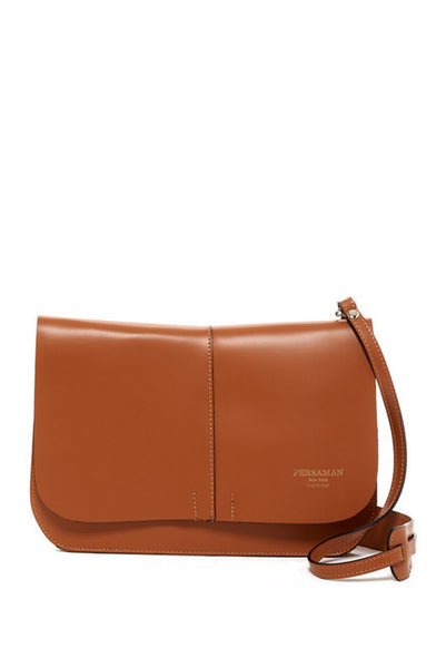 Eve Leather Saddle Crossbody
